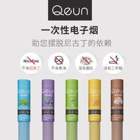 Qeun 一次性电子烟 不含尼古丁