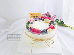小清新鲜果蛋糕·为你精选的简约风蛋糕