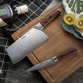 德国康巴赫刀具套装不锈钢工艺厨房菜刀家用全套切菜刀水果刀组合