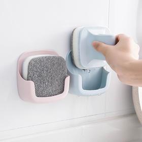 【赠2个替换海绵刷】新一代壁挂式厨房洗碗刷,沥水设计告别发霉细菌,高颜值又好用,无需打孔简易安装