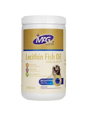 喜归 | mag卵磷脂狗狗鱼油颗粒450g   美毛粉宠物泰迪金毛犬爆毛粉软磷脂海藻粉