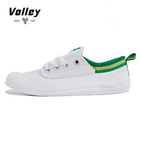 澳洲VOLLEY经典款小白鞋情侣板鞋低帮帆布鞋