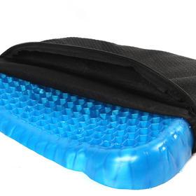 【黑科技清爽冰凉】500透气孔排汗去湿久坐不痛蜂窝凝胶坐垫