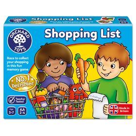 Orchard Toys超市购物清单益智游戏亲子桌游玩具
