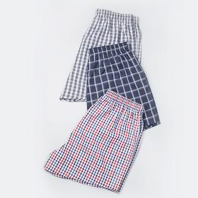 男士基础款阿罗裤夏天外穿薄款透气宽松纯棉平角阿罗(3条)