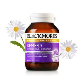 【香港直邮】 Blackmores 澳佳宝 REME-D小白菊偏头痛缓释胶囊60粒