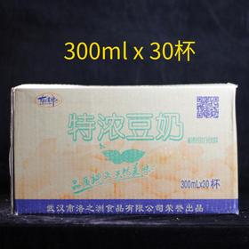 特浓豆奶300ml*30杯