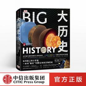 【书单来了专享】DK大历史:从宇宙大爆炸到我们人类的未来,138亿年的非凡旅程 大卫·克里斯蒂安著  中信出版社图书