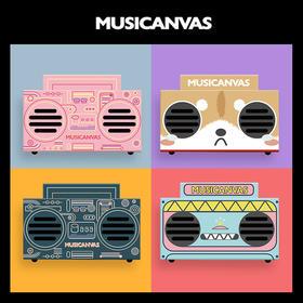 Musicanvas baby 音乐画布 可爱蓝牙音箱便携音响