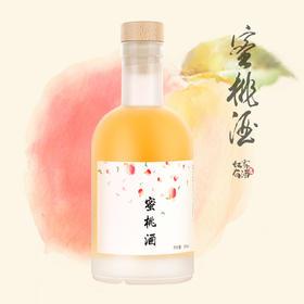 【蜜桃酒】水果网红酒200ml/500ml 自酿低度