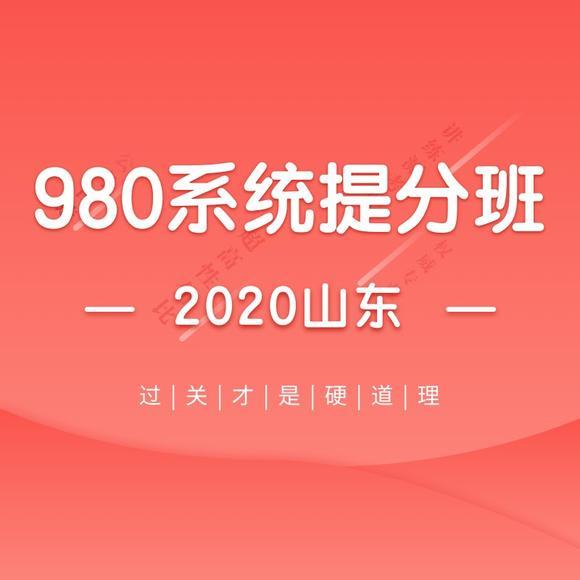 2020山东省考系统提分班06期