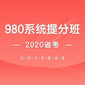 【合辑】2020联考省系统提分班20期(含乡镇申论)