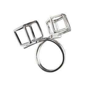 陈太阳S/S18《游戏钻石系列·被钻石环绕》戒指手工限量首饰
