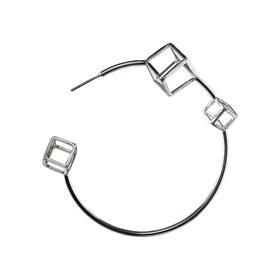 陈太阳S/S18《游戏钻石系列·游戏钻石耳环》手工限量首饰
