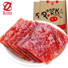 【真心猪肉脯300g*1袋】靖江肉脯猪肉干卤肉零食熟食小吃开袋即食