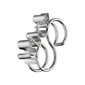 陈太阳S/S18《游戏钻石系列·钻石锁》戒指手工限量首饰