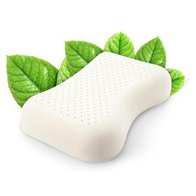 【国内贸易】泰国TAIHI天然乳胶枕头美容平面款
