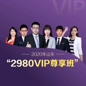 2020山東省VIP尊享班(1300+超長課時,45冊圖書禮包,超強師資,超全課程,VIP服務)