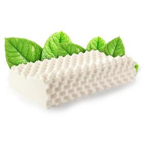 【国内贸易】泰国TAIHI天然乳胶枕头高低按摩矮款