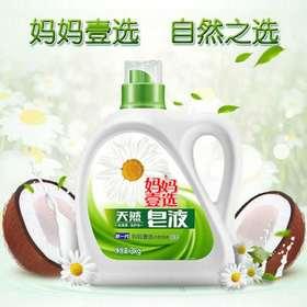 【洗衣液】*妈妈壹选天然皂液3kg洗护合一洗衣液 | 基础商品