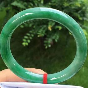 【B9042004】辣满绿圆条手镯