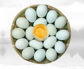 内蒙古草原富硒绿壳乌鸡蛋 古法养殖 鸡蛋中的人参 东方神蛋 30枚 包邮