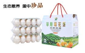 内蒙古草原菊花蛋 生态散养 蛋中珍品 30枚/盒 包邮