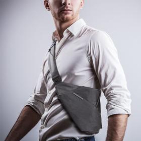 【夏季枪包 男士魅力】NIID斜挎包 三代升级立体防盗速取胸包 隐形功能分区新品特惠