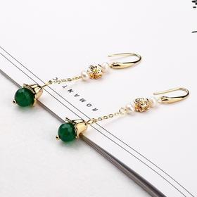 【清仓特价 不退不换】NK06新款气质珍珠耳环TZF
