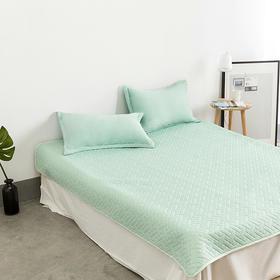 夏天用它,空调钱省一半?自降温5℃的一默 EMO SLEEP 乳胶凉席 3 件套,柔软不黏人!抑菌防螨,一睡入梦!