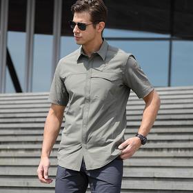 【3M速干透气】防撕裂短袖衬衫