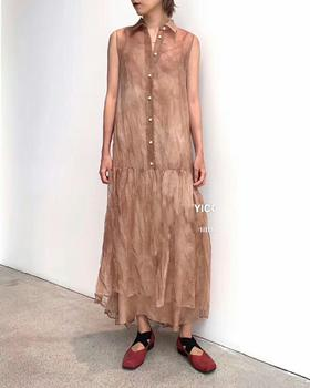 暗黑设计师品牌连衣裙!