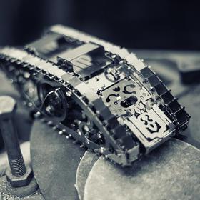 【6月25日发货】乌克兰【太摩】金属传动模型