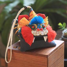 自然造物x王的手创(中国传统民间习俗风物艾虎吞五毒端午香囊) 传统手工刺绣礼品
