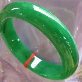 B9042412 批发价:15万,满绿正圈,完美,尺寸56.5-14-8
