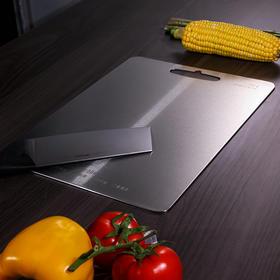 德国康巴赫304不锈钢菜板砧板防霉家用厨房切水果擀面板案板切菜板