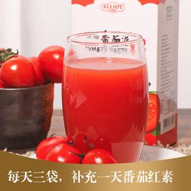 新疆出口 浓缩番茄泥  1袋=260颗西红柿  满满番茄红素 10袋*36g