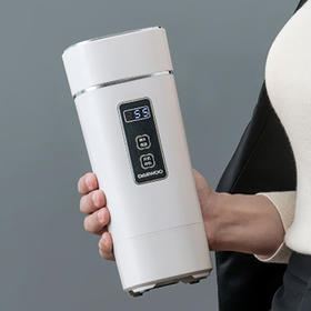 韩国大宇便携电热水杯!出行必备,能烧水的保温杯!轻便小巧,24小时恒温,私人专属的喝水神器!40℃-100℃ 可调温度