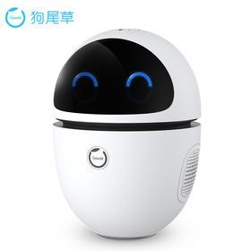狗尾草 Gowild 公子小白 儿童 智能机器人 早教 语音学习机器人 英语故事机 陪伴 成长版二代 白色