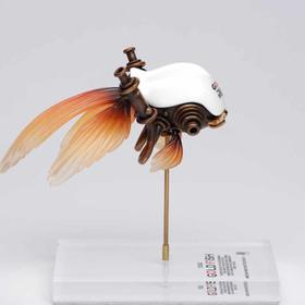松岡道弘 Gold Fish 雕塑