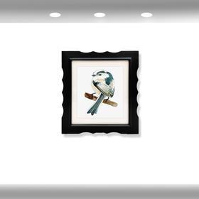 希岸酒店2.0客房挂画(左下,小鸟)