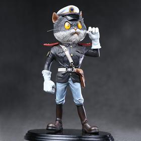 末那 《黑猫警长》黑猫警长(手枪版) 雕塑