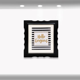 希岸酒店2.0客房挂画 (左下,条纹)