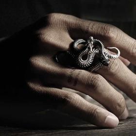 骸 尹相锟 缠绕之蛇戒指