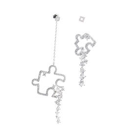 AS.FAERIE 「人生拼图」系列 从小到大耳环   AB Puzzle Earrings