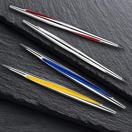 德国神设计【老不死的永恒笔】不用墨水金属打造!陪伴一辈子,手玩转转笔!礼盒装