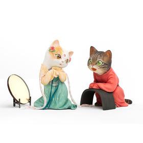瓜几拉 画猫·梦唐之红线 雕塑