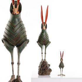 松岡道弘 COCCON · Green原大复制版 树脂雕塑