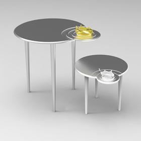 王振《水花桌》艺术桌子