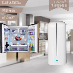 【黑科技臭氧除菌祛异味】Enerfer充电式冰箱除味器,杀菌保鲜 活性氧空气净化器  热卖